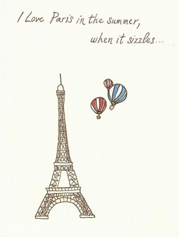 paris & hot air balloons