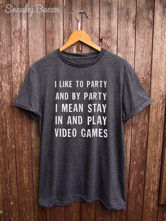 e45b4d51c Funny Gamer Shirt - gamer shirts, funny gamer tshirt, gifts for him, gifts  for her, gamer gifts