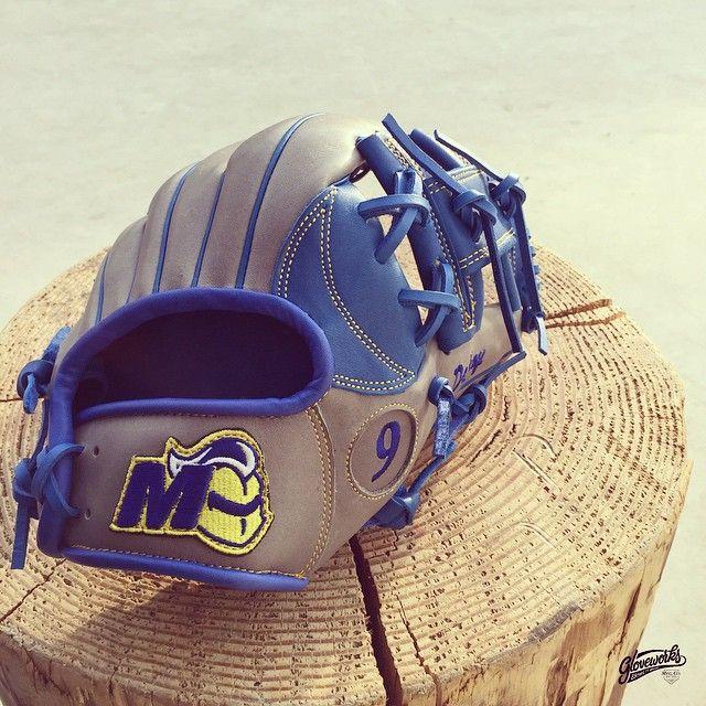 Glove for Madonna Univ. Build your custom glove at gloveworks.net  #Baseball #Gloveworks #Glove