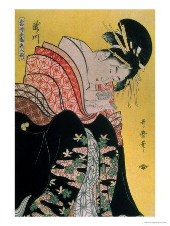 Takigawa from the Tea-House, Ogi Impressão giclée
