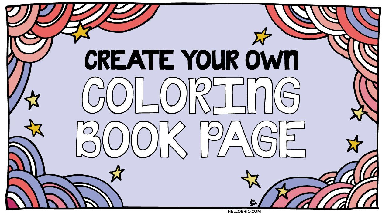 36+ Create your own coloring page online info