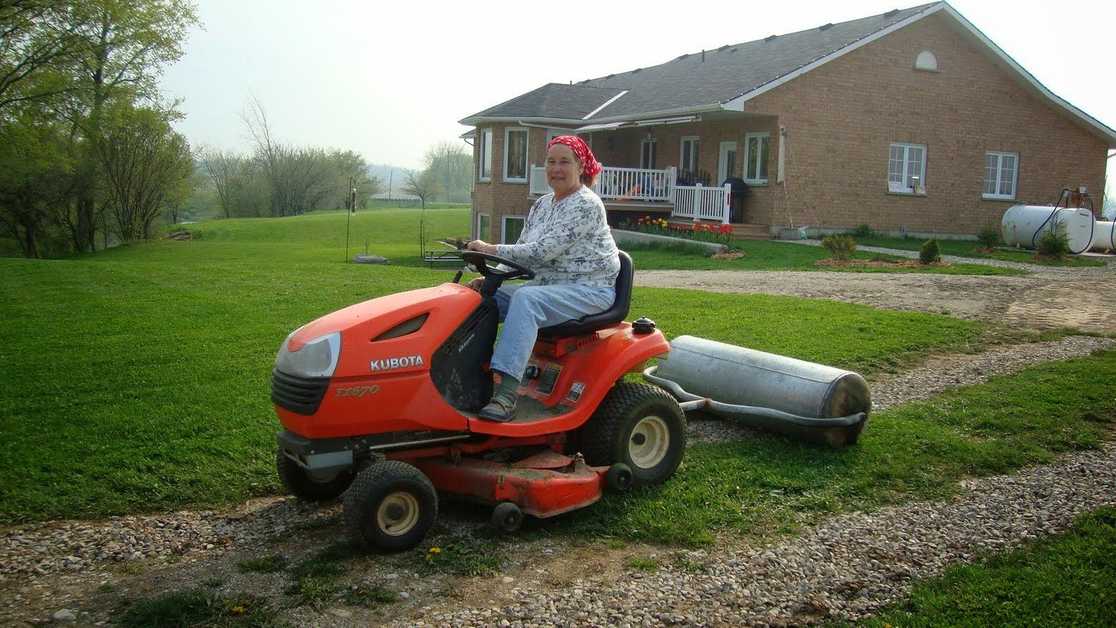 Another Day Another Project: Pull-Behind Lawn Roller
