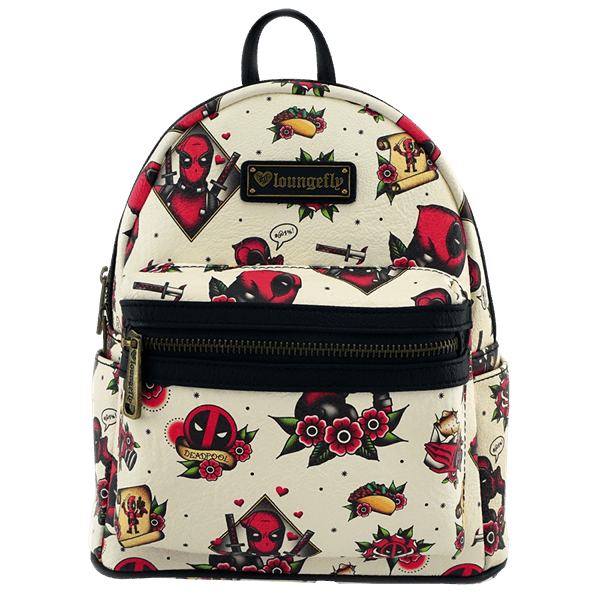 Marvel - Deadpool - Tattoo Deadpool Loungefly Mini Backpack - ZiNG Pop  Culture 3ff6e2c67a268