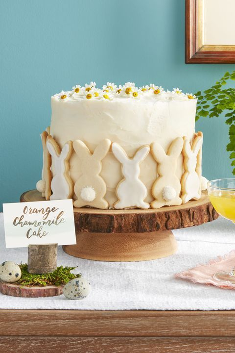This Easter Cake Is Decorated With Sugar Cookies, so It's Basically Two Desserts in One