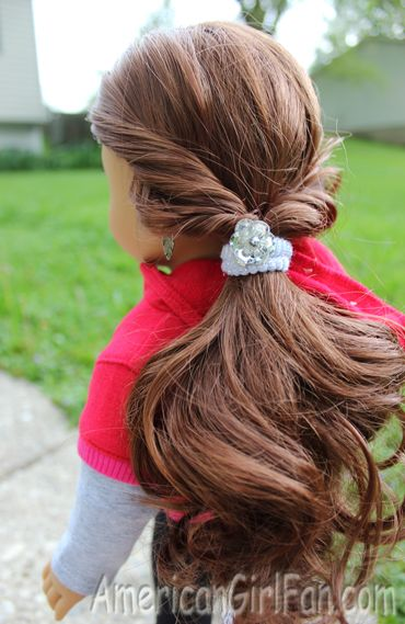 Easy Sporty Hairstyle for dolls!