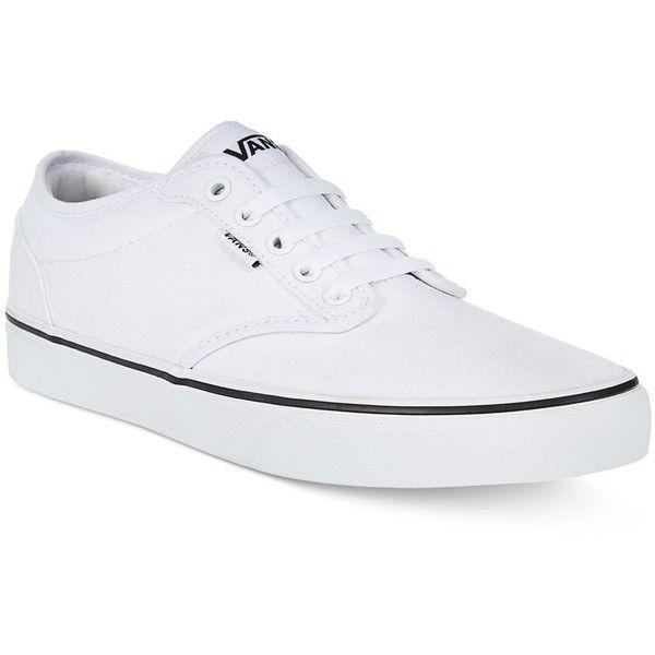Mens white canvas shoes
