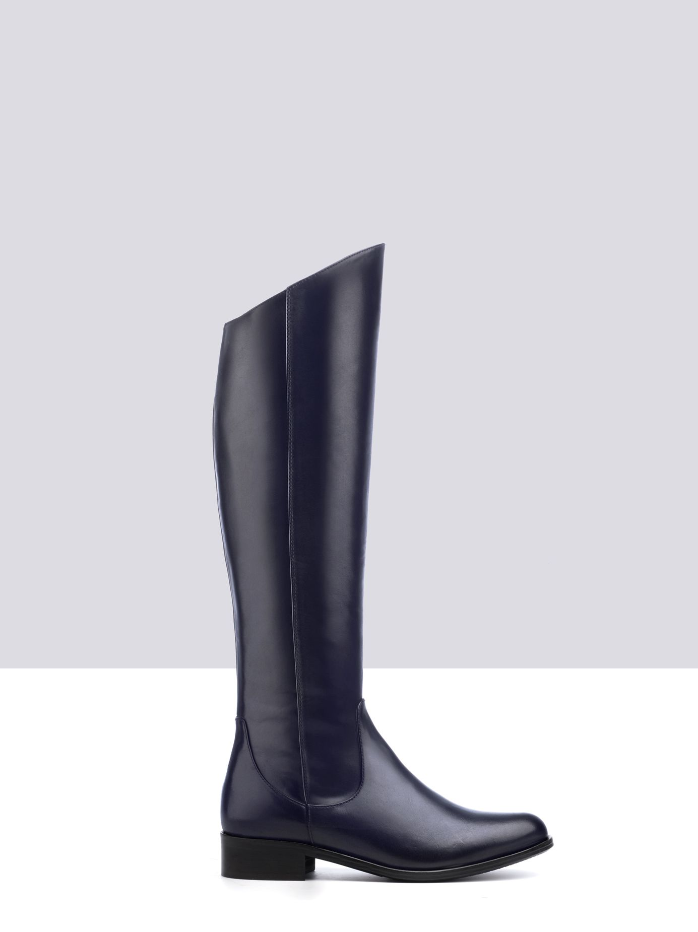 89117f8f468 Huntsman - Knee High Boots in Black Leather by Ted Muffy US ...