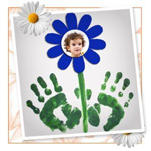 5 Spring handprint crafts for kids