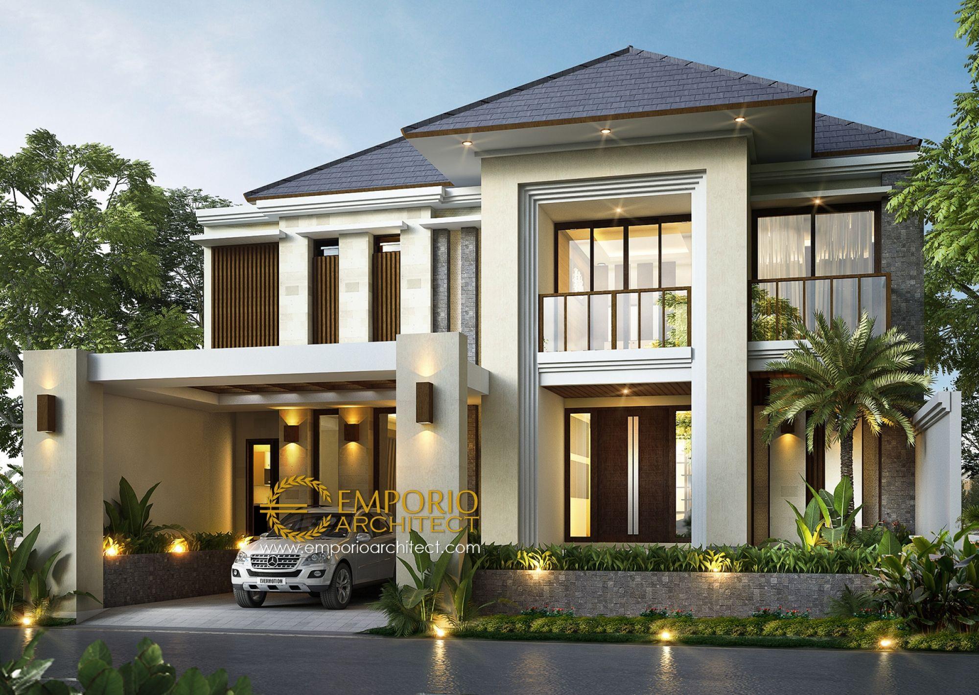 Jasa Arsitek Jakarta Desain Rumah Bapak Ismail Jasa Arsitek Desain Rumah Berkualitas Desain Villa Bali Mod Home Fashion Eksterior Rumah Desain Rumah Eksterior