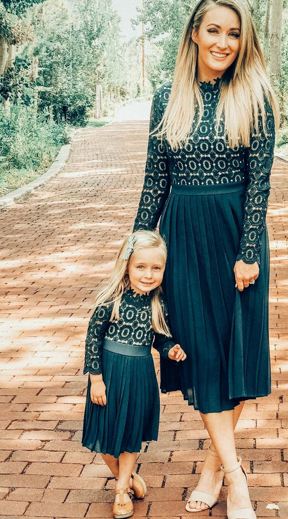 d4f58fbf7e4 Mommy and me matching modest dresses! ivycityco.com