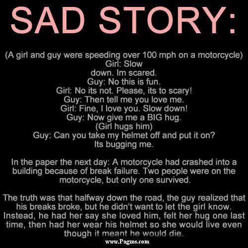 Sweet Story To Tell A Girl