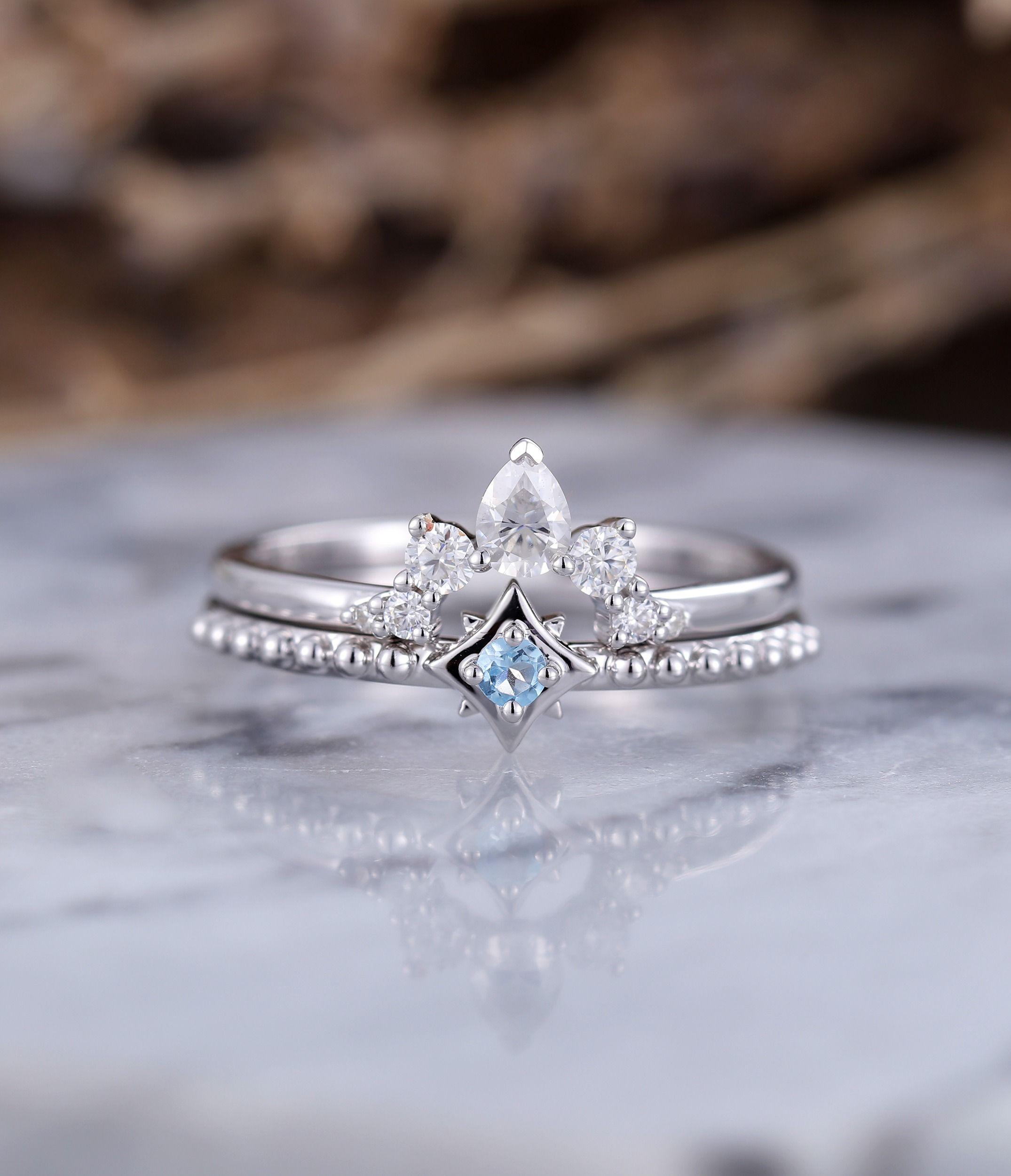 23+ Topaz wedding ring set information
