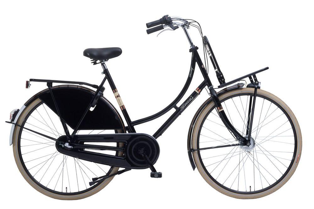 Paisley Hollandrad Fahrrad Damen Retro Fahrrad