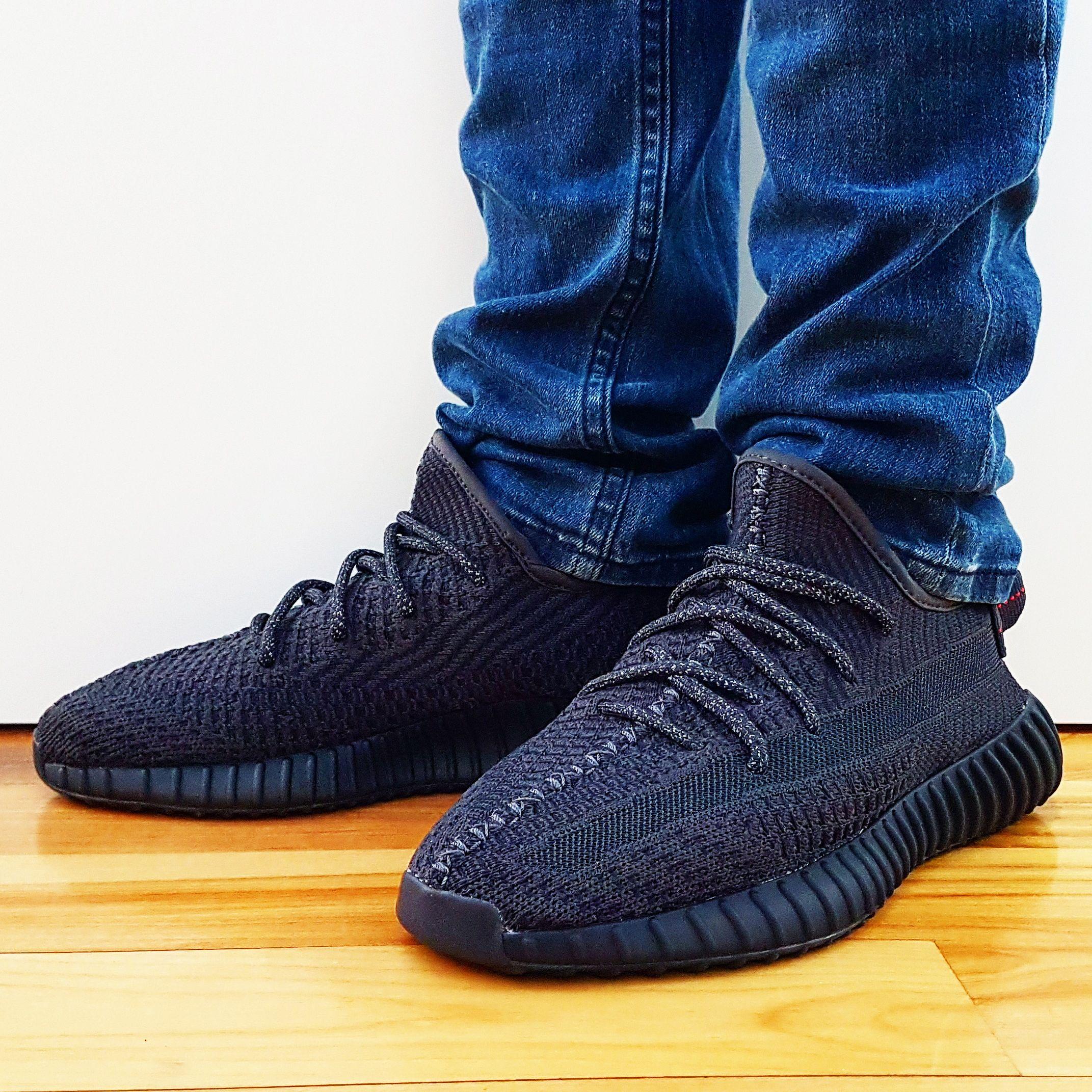 yeezy 350 v2 black static non reflective