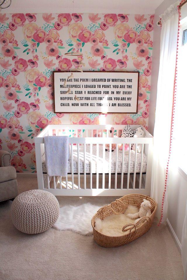 Best Our Daughter S Nursery Reveal Baby Nursery Diy Nursery 400 x 300