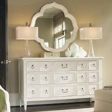 mirror + 2 lamps on the existing dresser?