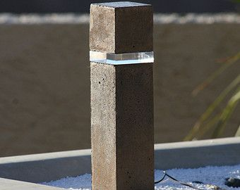 Concrete Lamp Post Architectural Google Search 12v Led Lights Concrete Lamp Concrete Light