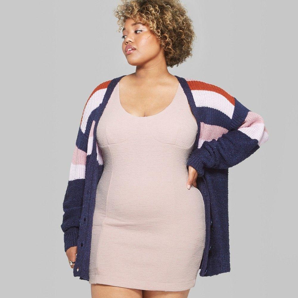 d8701dcf75 Women s Plus Size Sleeveless Tank Mini Dress - Wild Fable Dusty Pink ...
