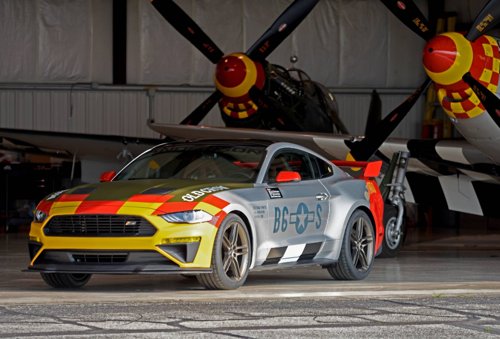 Roush Builds 710 Hp 2019 Mustang Gt Old Crow One Off For Charity