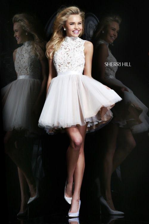 Vestidos modernos y cortos para 15 años de Sherri Hill | vestidos ...