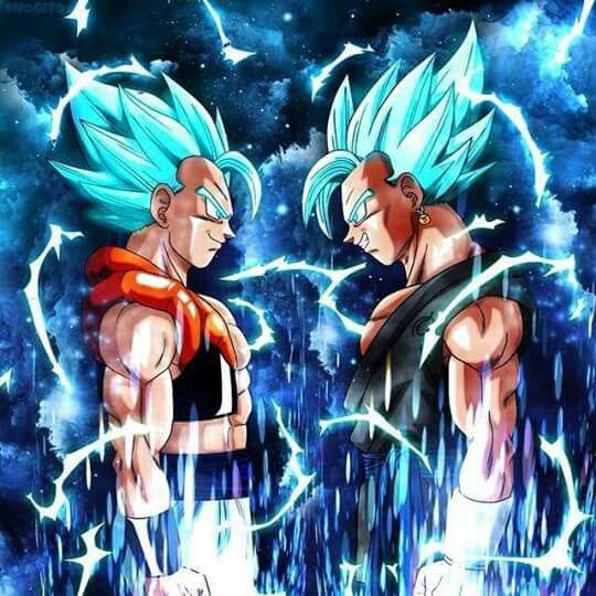Ssgss Gogeta And Vegeto Anime Dragon Ball Dragon Ball Dragon Ball Art