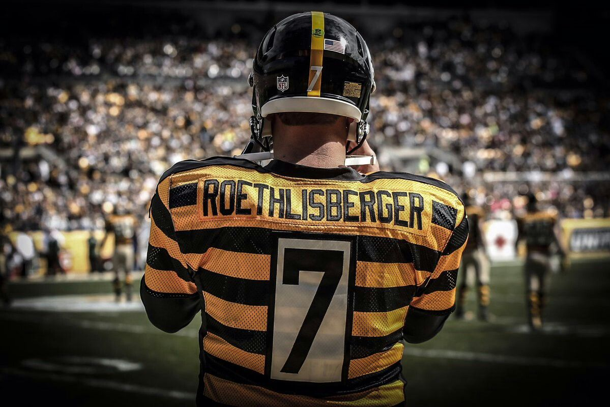 Big Ben has 15 touchdown passes this season, the most ever