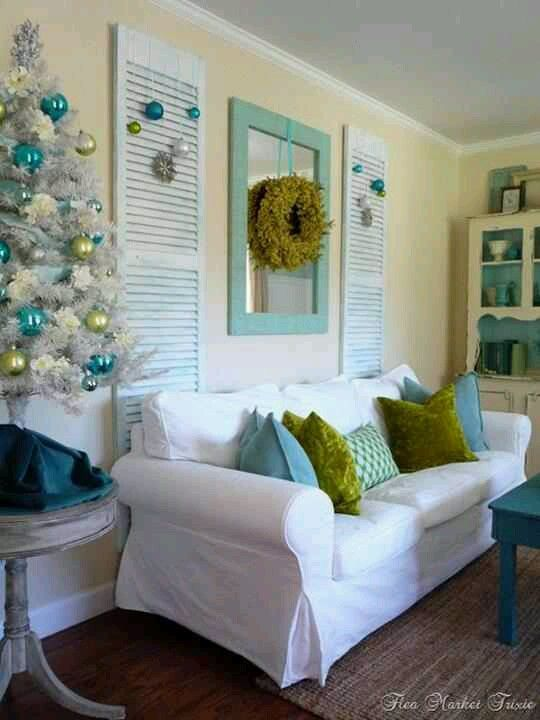 Turquoise And Lime Green Will Look Nice On My Porch With