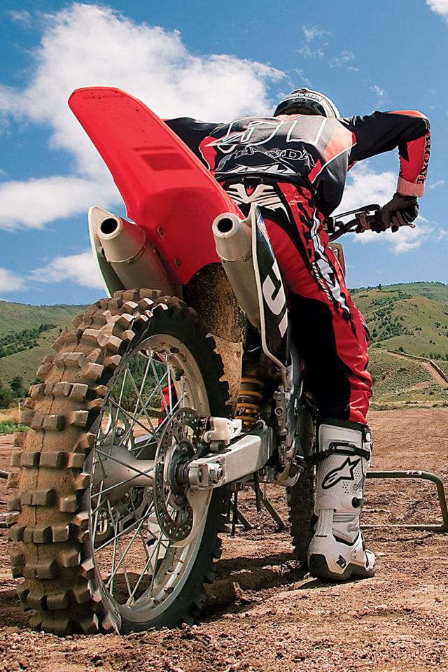 Dirt Bike IPhone Wallpaper