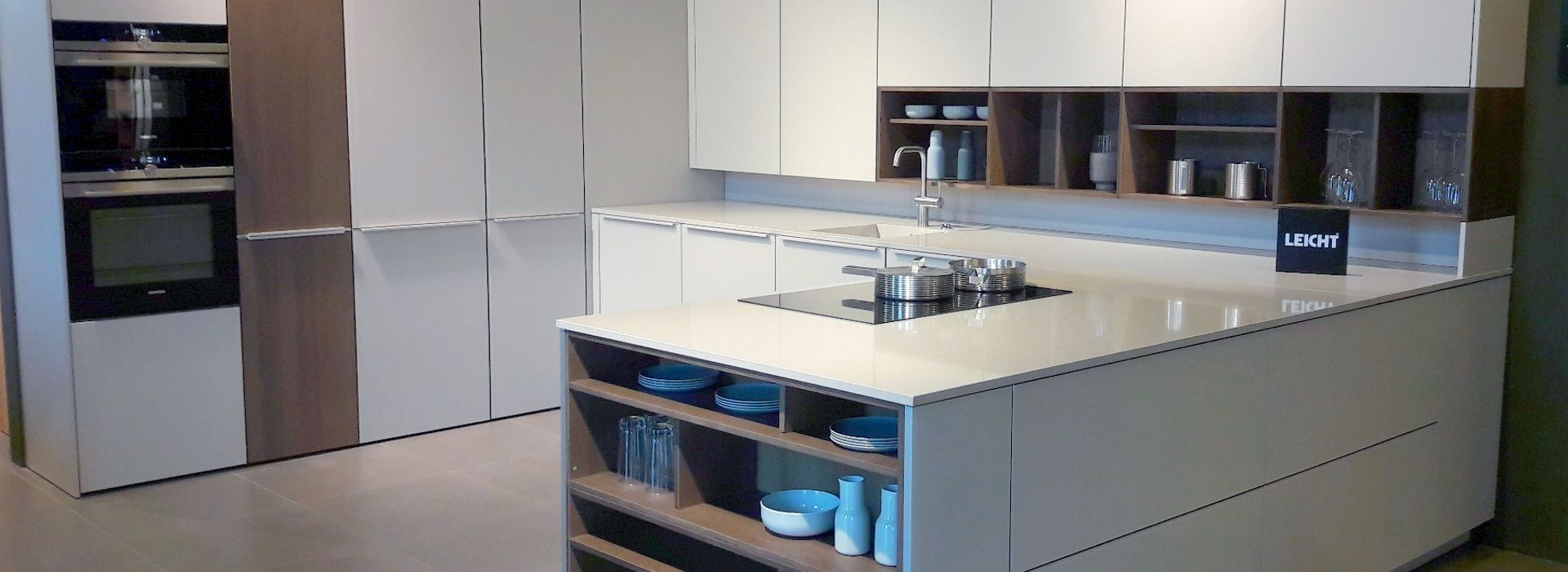 Bei uns können Sie Ihre neue LEICHT-Küche planen lassen ...