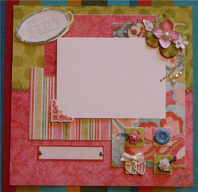 Рамка открытка с днем рождения своими руками