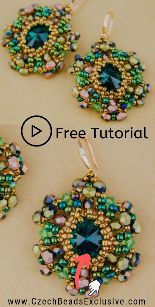 Free Video Tutorial How To Make Beaded Earrings Revival With