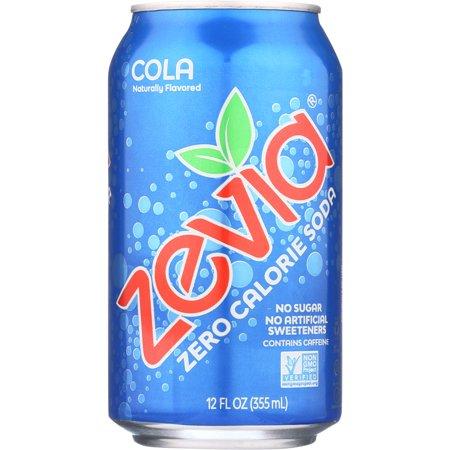 Cola Zevia Zero Calorie Soda Stevia Diet Cola Cola