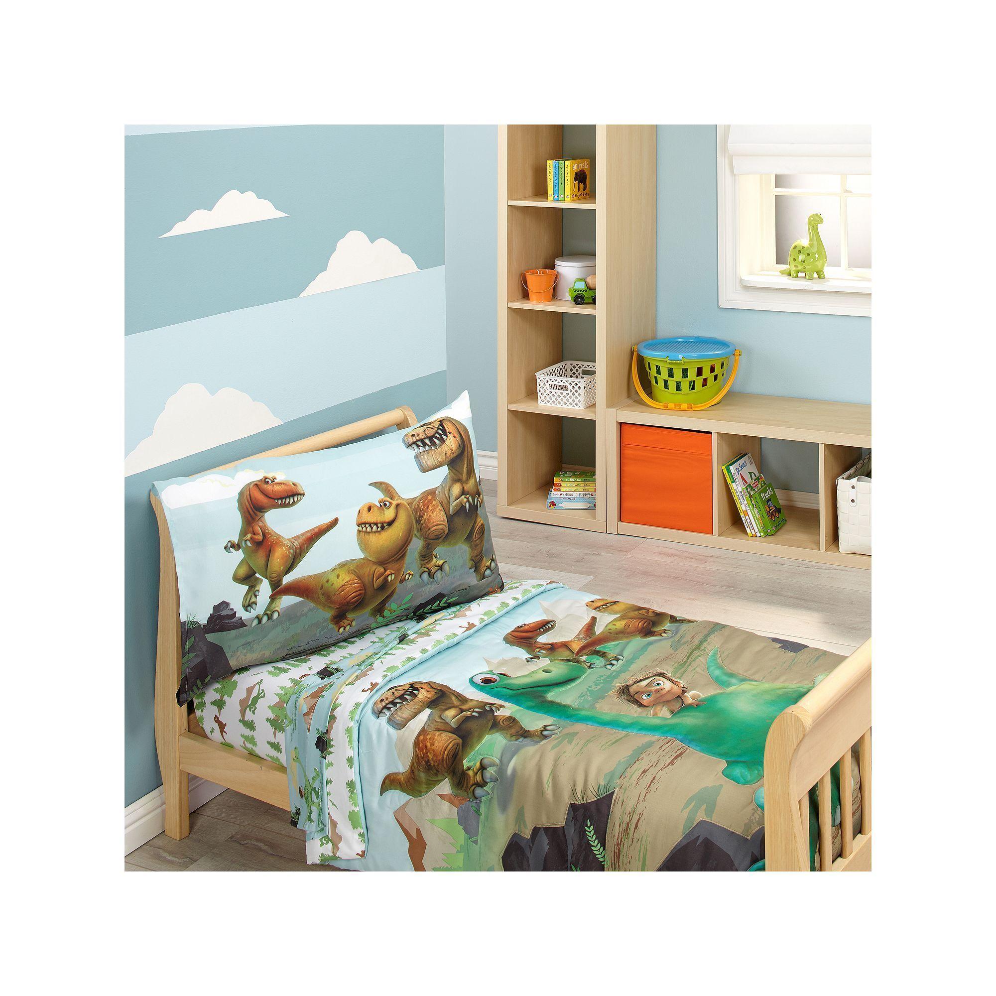 Disney Pixar The Good Dinosaur 4 Pc Toddler Bedding Set Green One Size