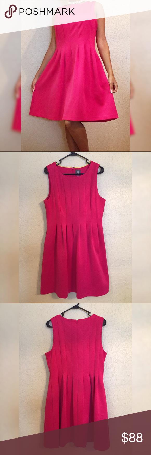 Sale Vince Camuto Pink Dress Clothes Design Dresses Fashion [ 1740 x 580 Pixel ]