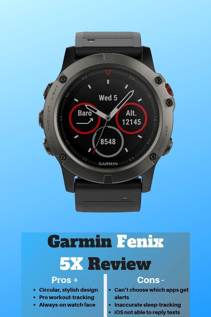 Garmin Fenix 5x Sapphire 2020 Review Fitness watch