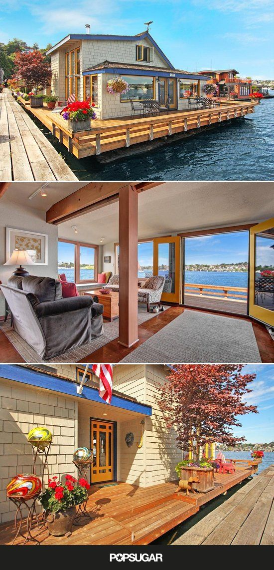 Living Spaces · The Sleepless In Seattle Houseboat ...