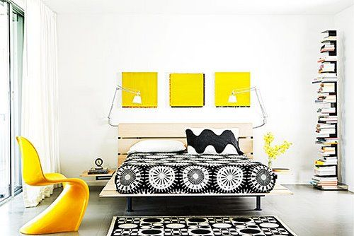 Black/White/Yellow. One of my favorite color combos. If done right...gorgeous. Too much, it can turn into a bumblebee.