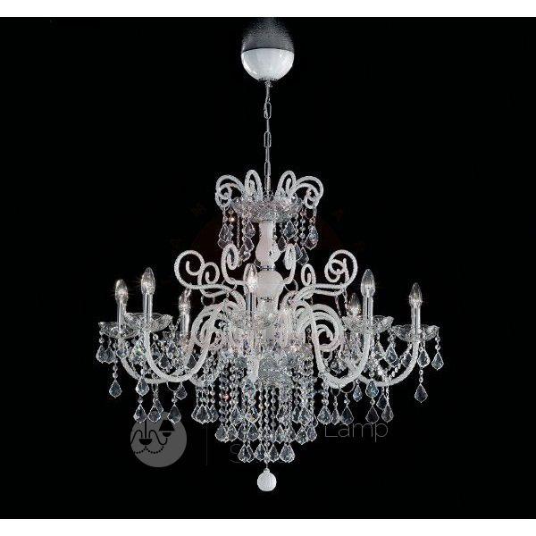 Come pulire un lampadario con gocce di cristallo. Pin Su Murano Glass Lights