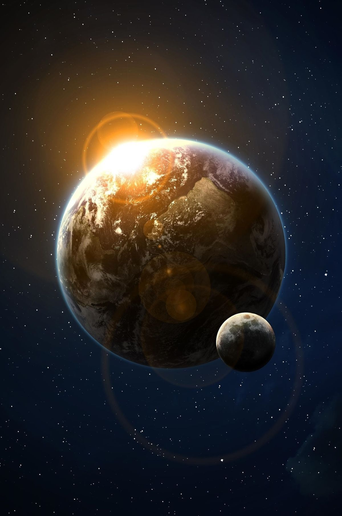 Pin En صورة تحدد المراكز المتاينة والتى تدور حولها الكواكب ويكون مركزها الشمس او الدائرة البؤرية فيها