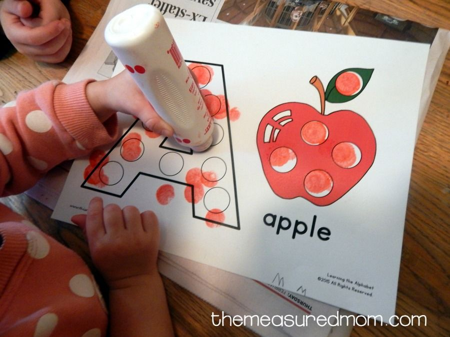 Letter A Activities for 2yearolds Activities for 2