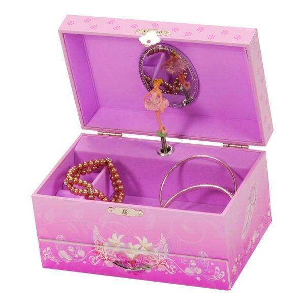 Mele rebecca ballet theme musical jewellery box for children