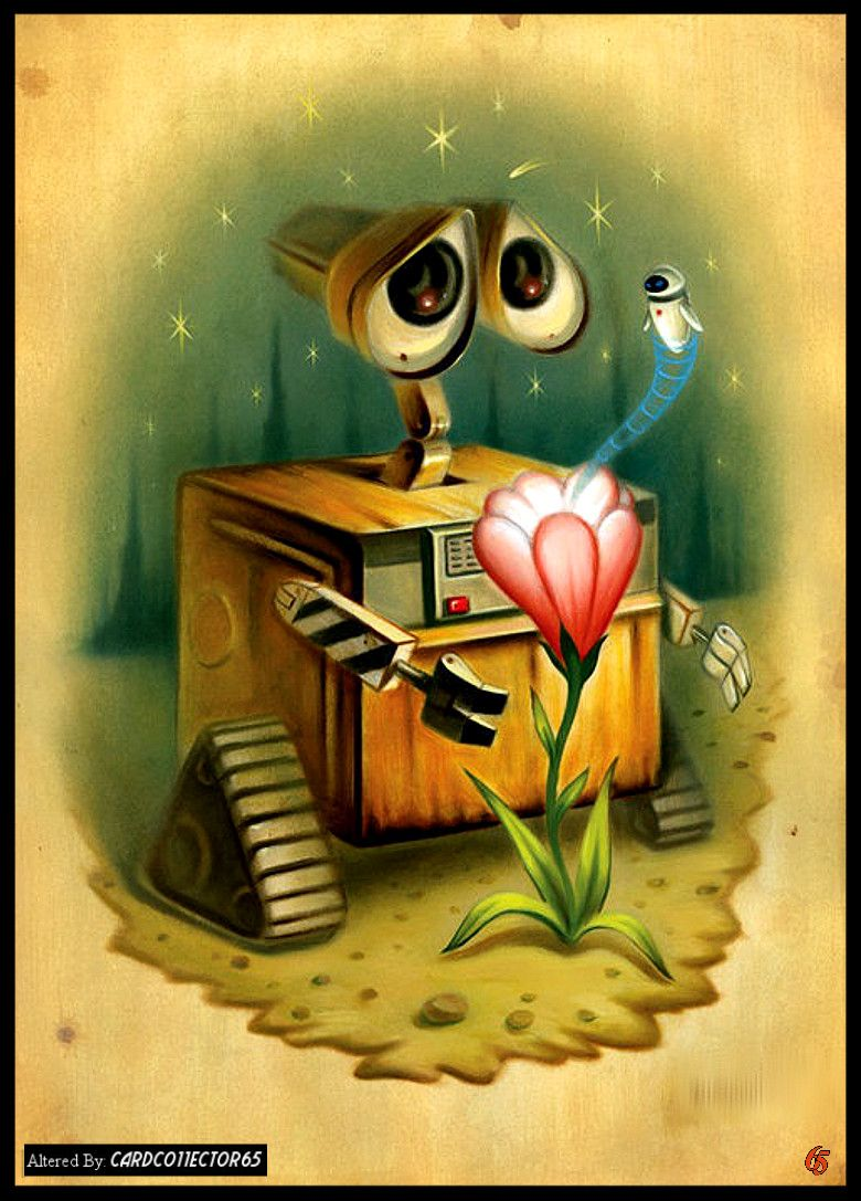Wall- E - MTG - Sleeves | Trading Card Sleeve Designs | Pinterest ...