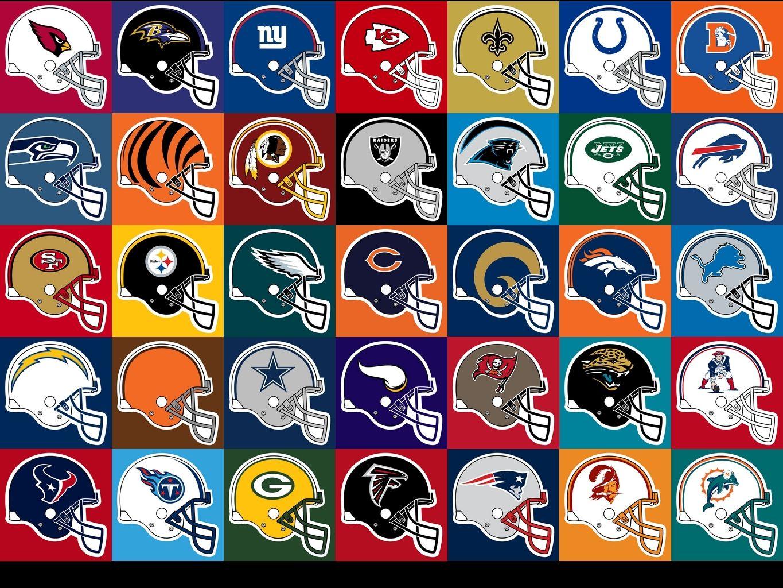 nfl football team helmet logos clipart Sport Printables