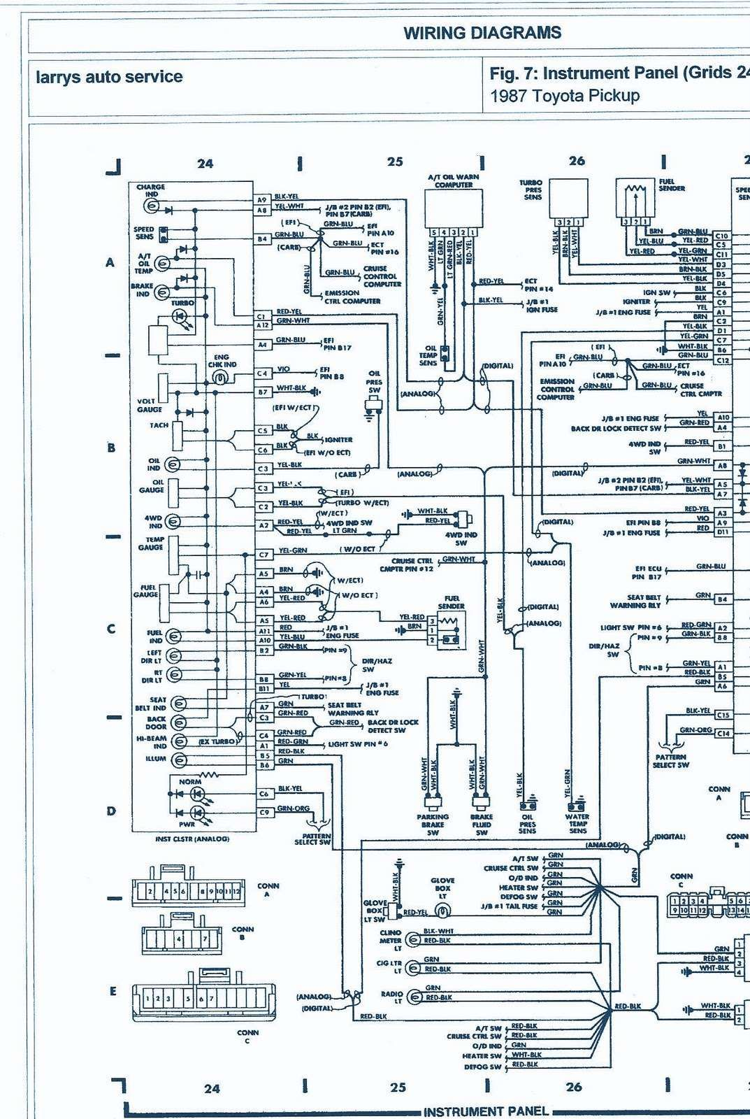 Wiring Diagram Electrical Electrical Wiring Diagram Toyota Diagram