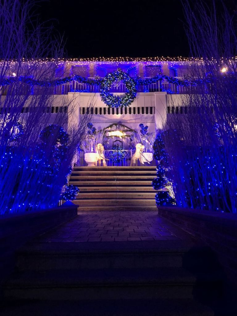 Visiting Dyker Heights Christmas Lights Luzes de natal