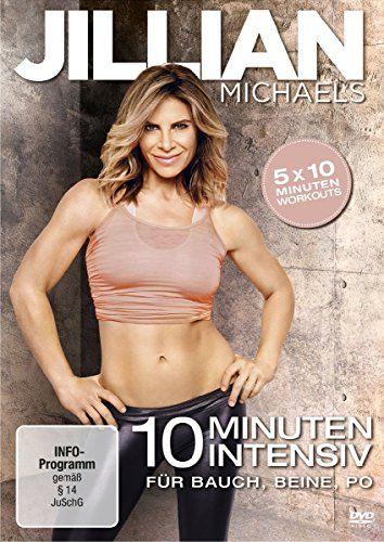 Jillian Michaels - 10 Minuten Intensiv für Bauch,  Beine und Po