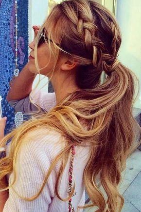 150 Peinados Sencillos Para Chicas Con Poco Tiempo Mujeres Pinterest