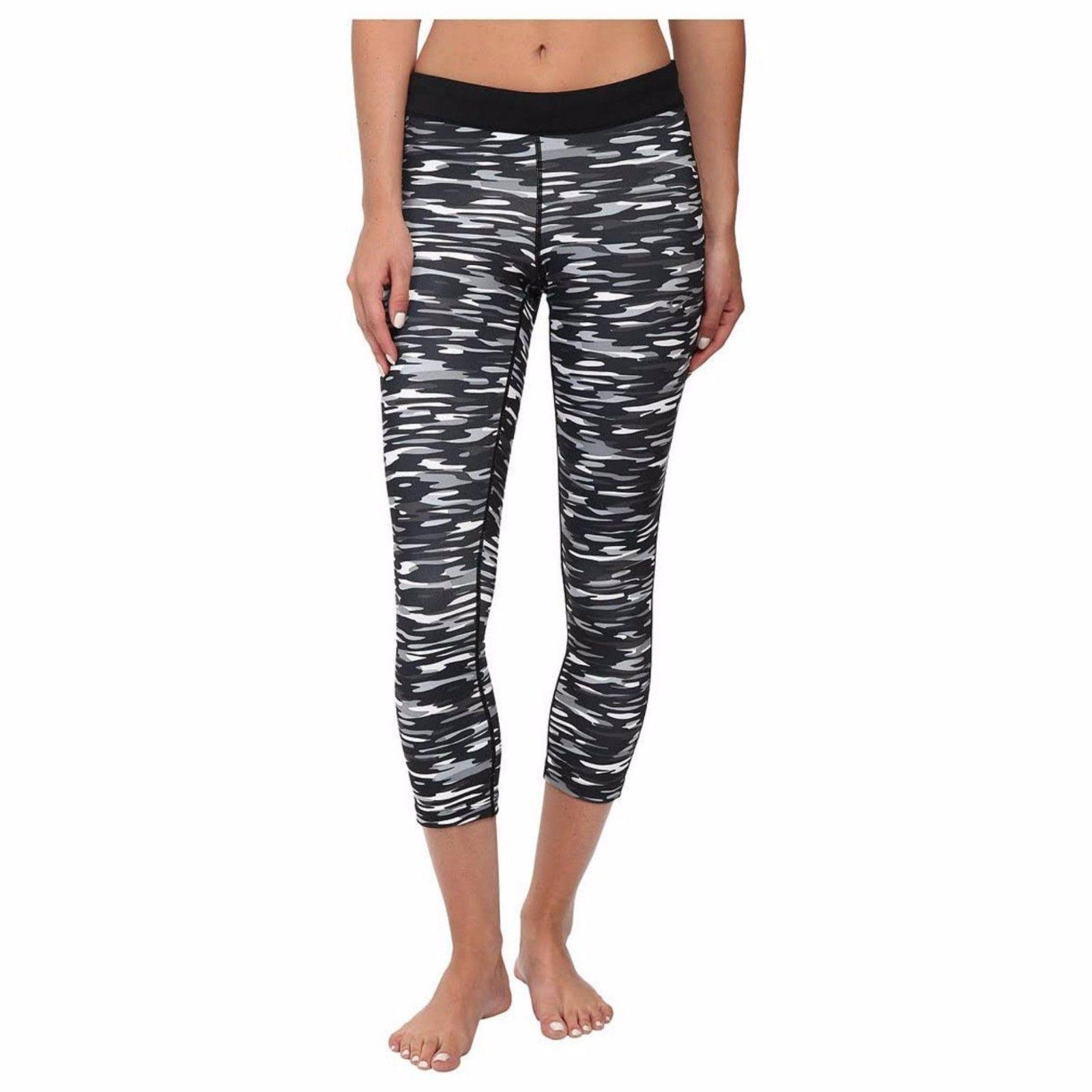 8df3d8484a Women's Nike Relay Foldover Capri Leggings Pants Size Medium Dri-Fit ...