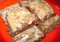 Cajun Delights: Decadent Cajun Treats, Chocolate Praline brownies!