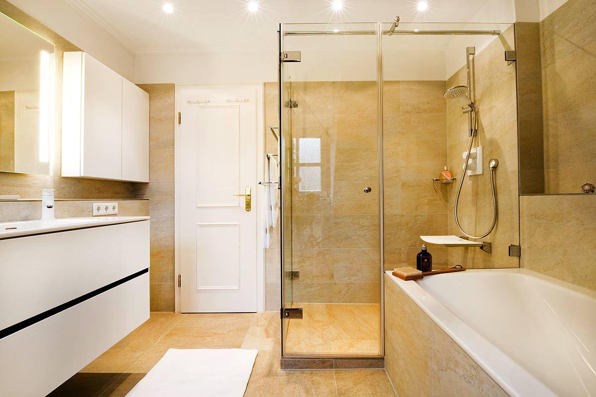 Heimwohl Badezimmer Badezimmer Duschkabine Bad Mit Dachschrage